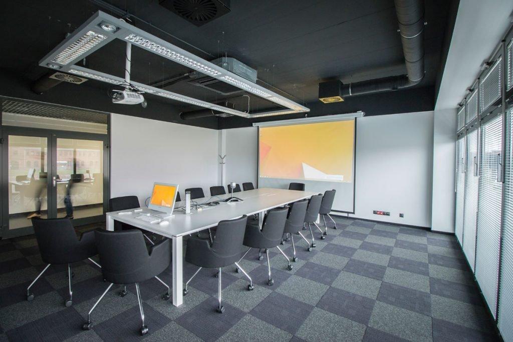wnętrza biurowca design