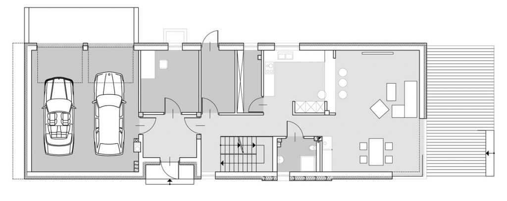 dom jednorodzinny design