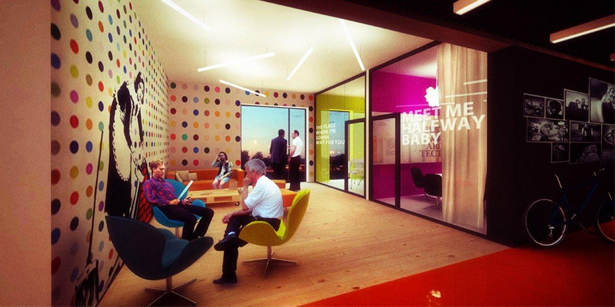 wnętrza biurowe projekt