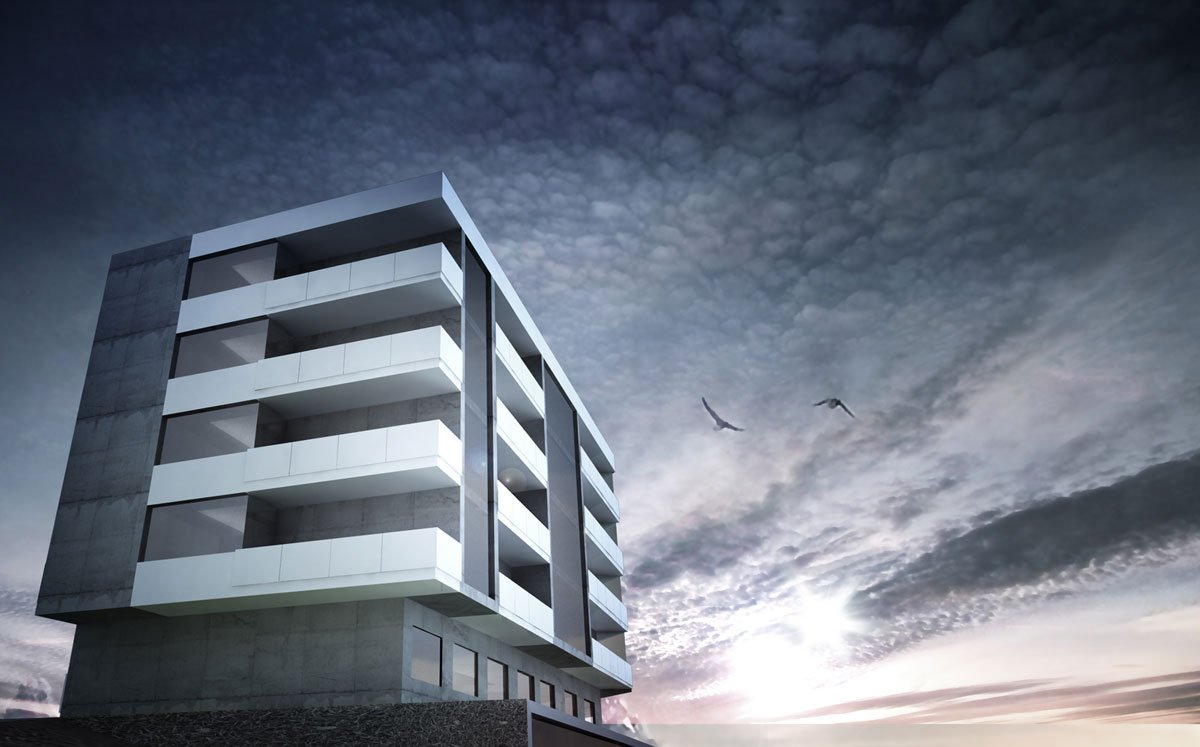 projekt osiedla mieszkaniowego architekt