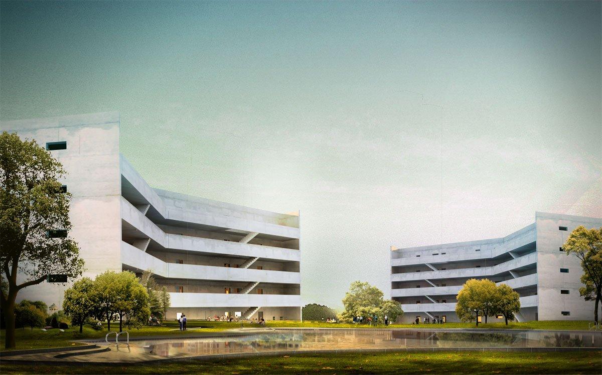 projekt osiedla mieszkaniowego biuro projektowe