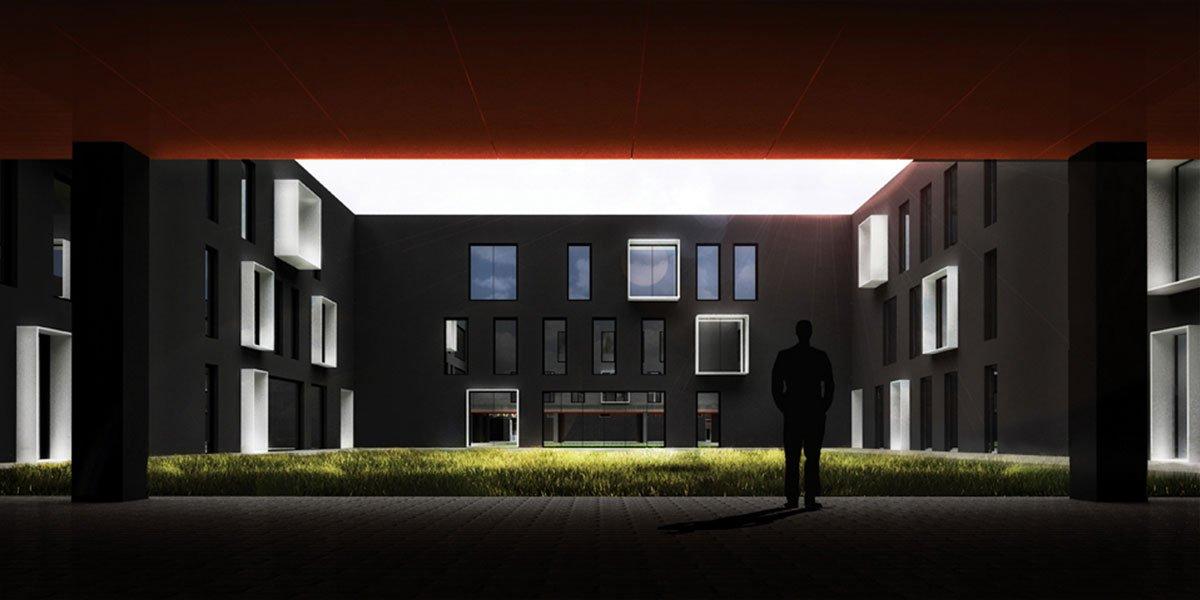 projekt biurowca Gliwice