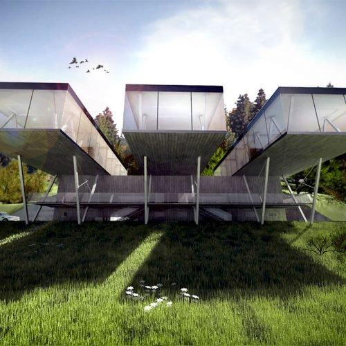 schronisko górskie projekt architekt