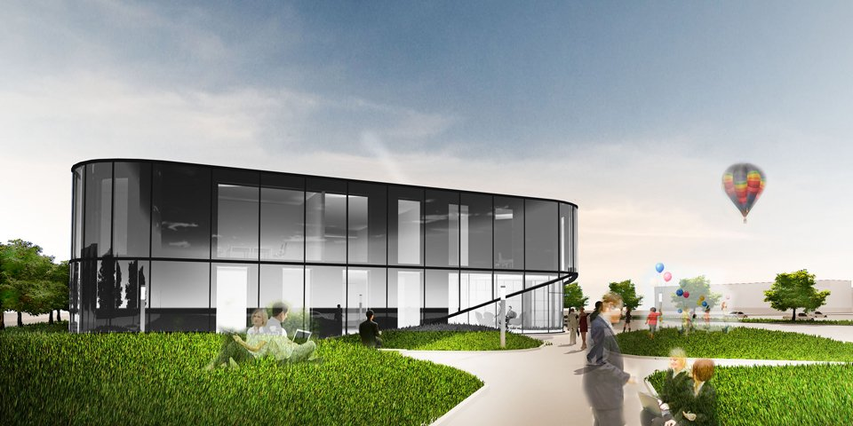 projekt biurowca architekt