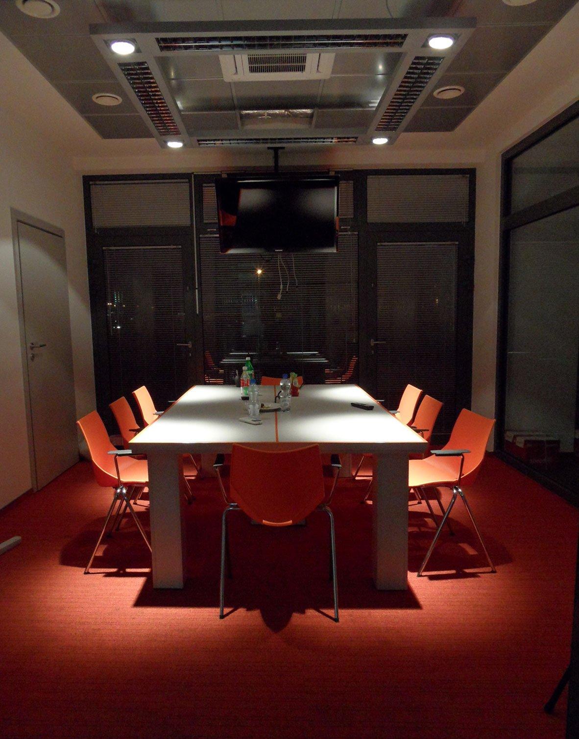 sala konferencyjna wnętrza biuro projektowe