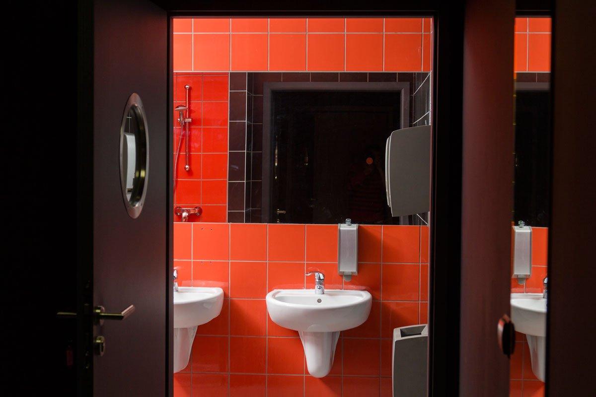 łazienka wnętrza biurowe projekt architekt