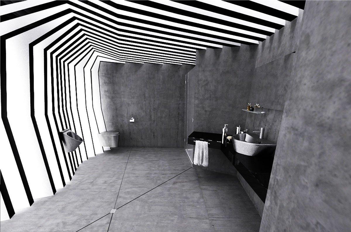 projekt łazienki dworzec