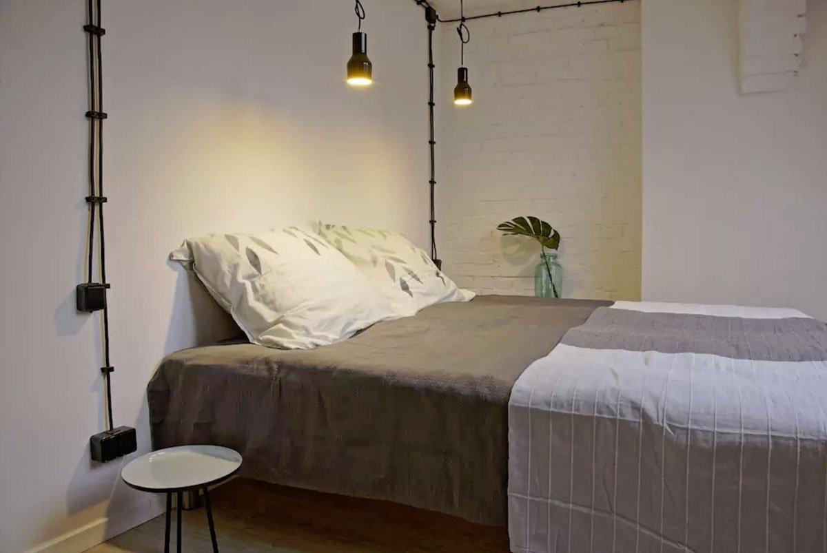 projekt wnętrz sypialnia architekt