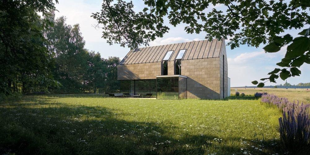 nowoczesna stodoła projekt architekt