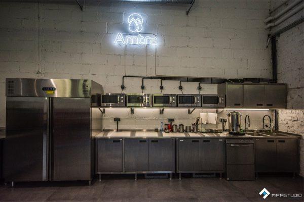 projekt stołówki AMTRA 4