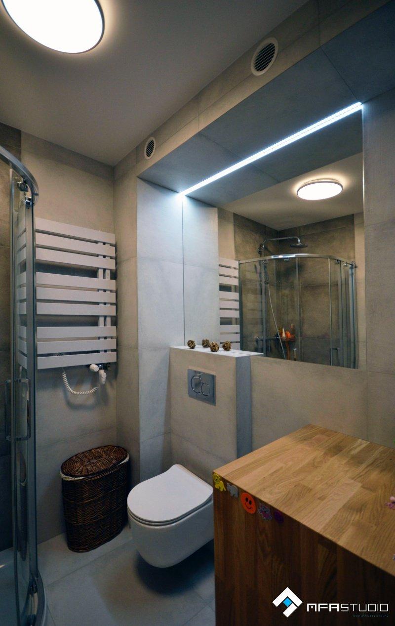 Projekt łazienki - architekt Gliwice
