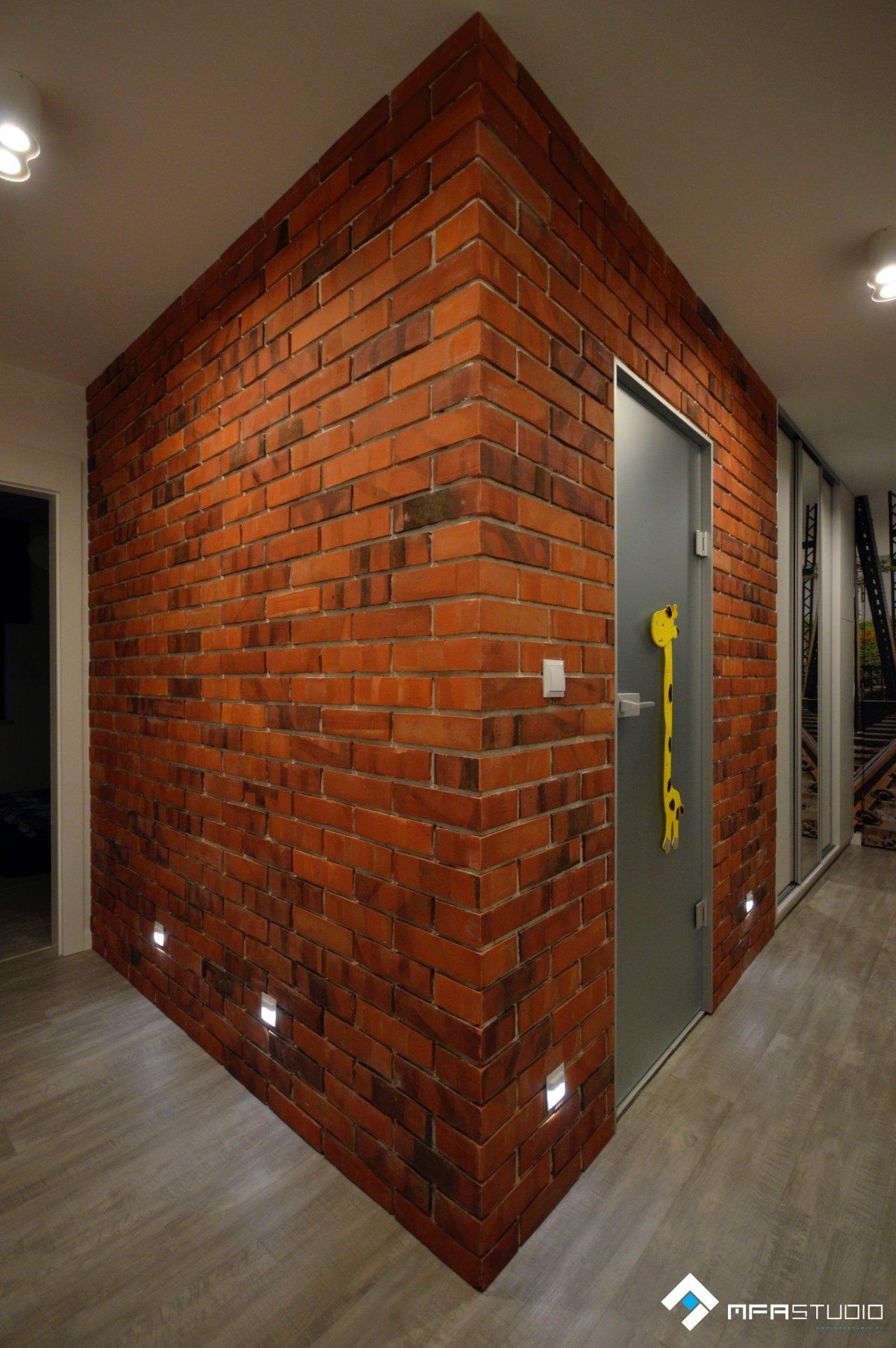 projekt korytarza - architekt Gliwice