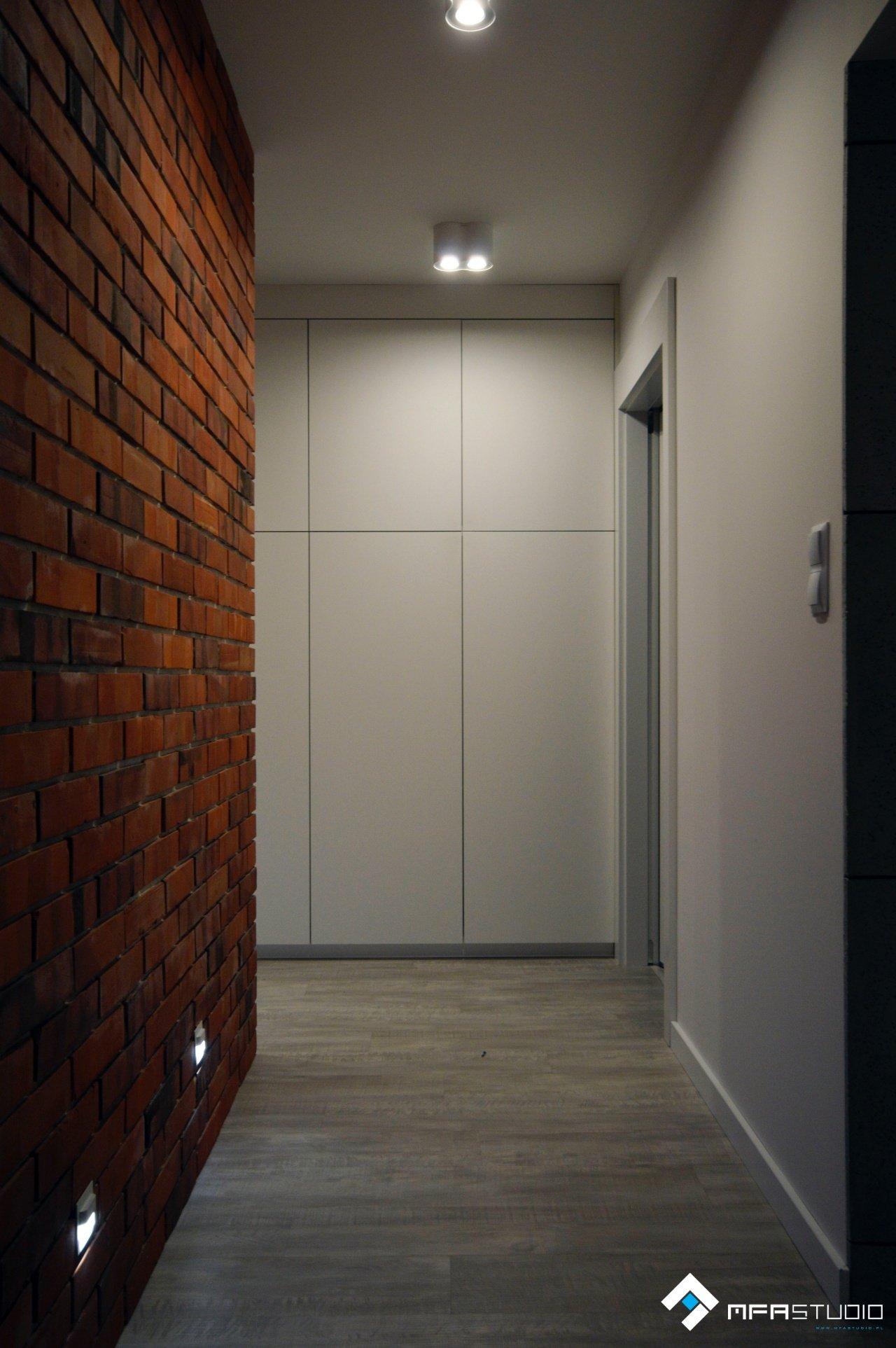 projekt korytarza MFA Studio