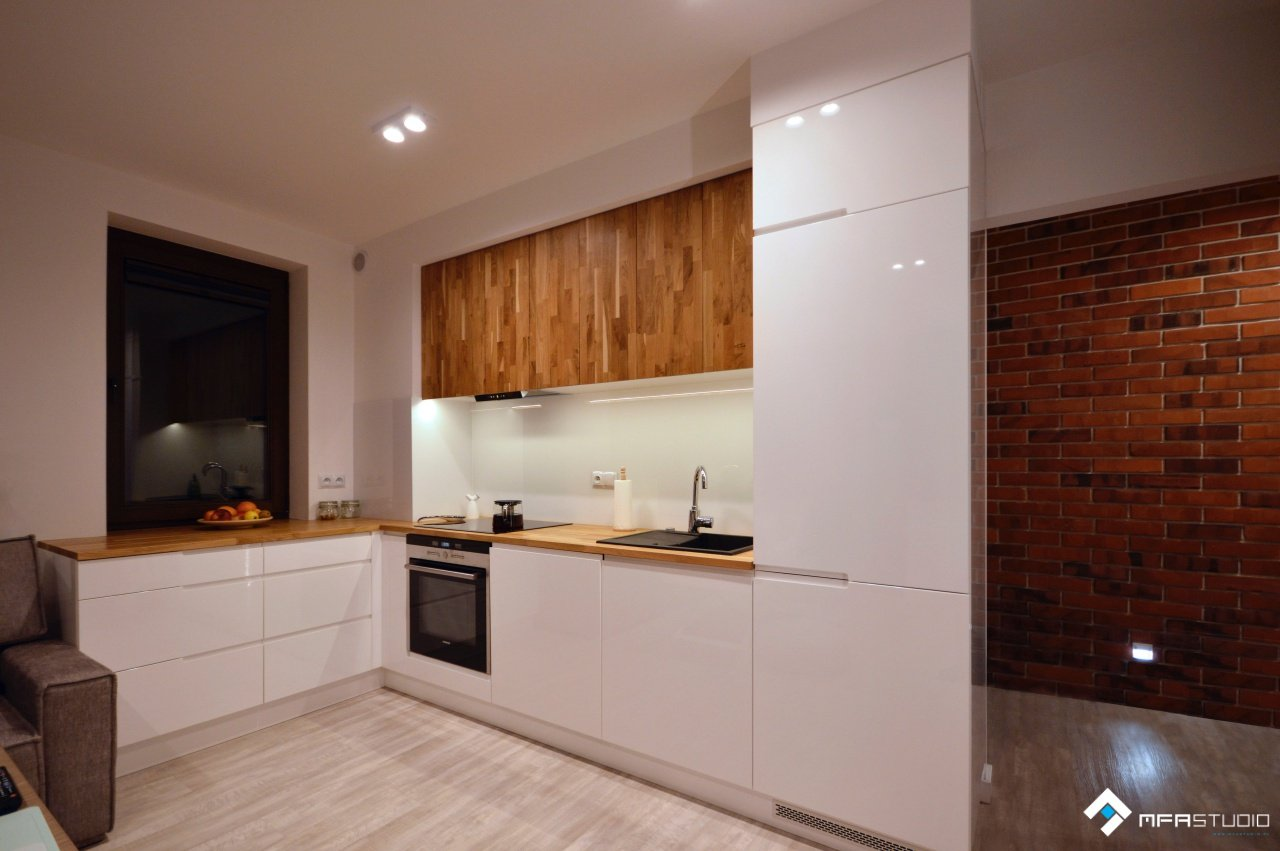 projekt kuchni - MFA Studio